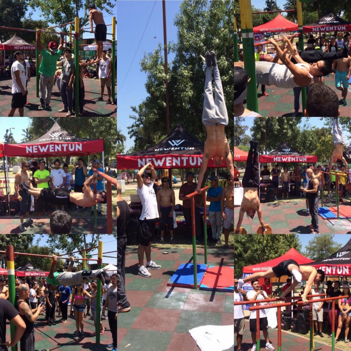 IV Campeonato nacional Streetworkout, Street Lifting & Calistenia Chile 2016